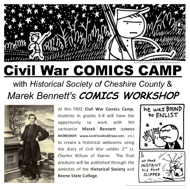 2016 Civil War Comics Camp