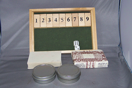Colonial Games wonder box