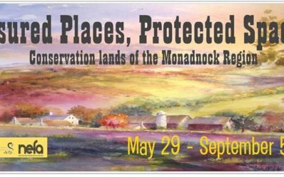 Treasured Places, Protected Spaces: An Exhibition of Artwork Featuring Conservation Lands of the Monadnock Region