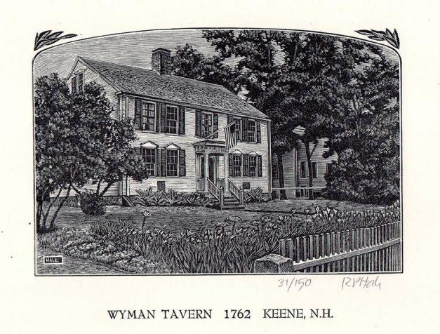 R.P. Hale - Wyman Tavern Print