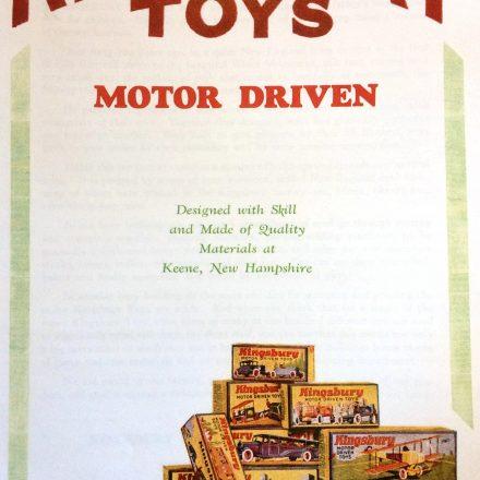 Kingsbury Toys Motor Driven