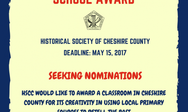 2017 School Award- Seeking Nominations