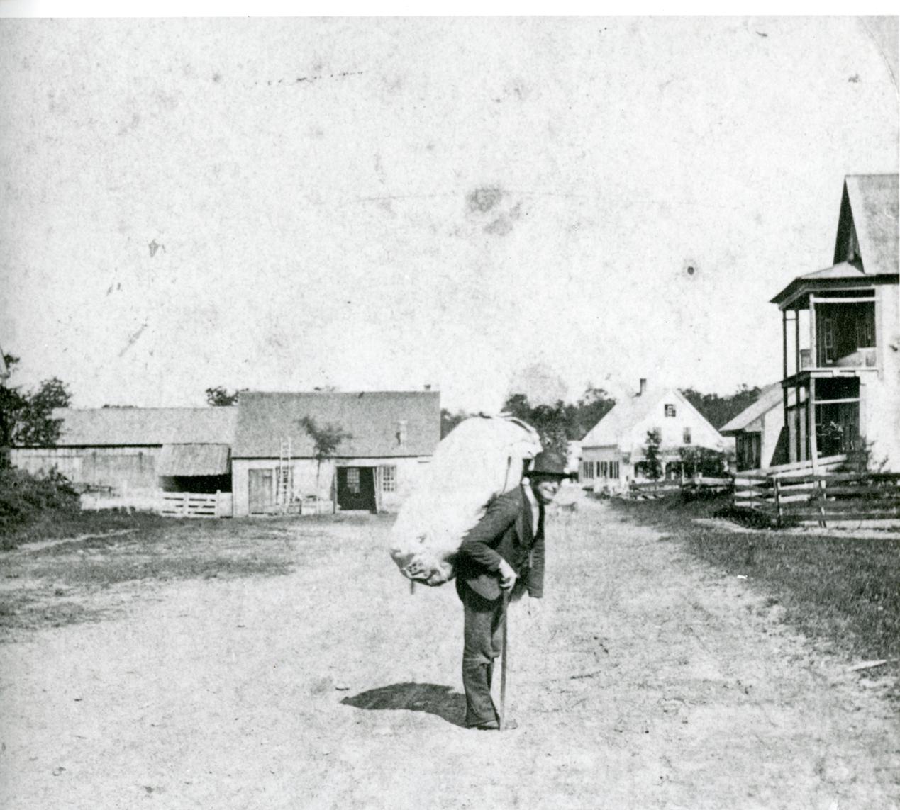 Jewish peddler in Westmoreland, NH