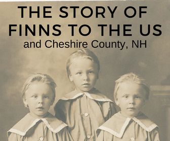 Immigration History- Our Finnish Community - Historical Society of