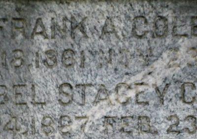 mabel s cole gravestone